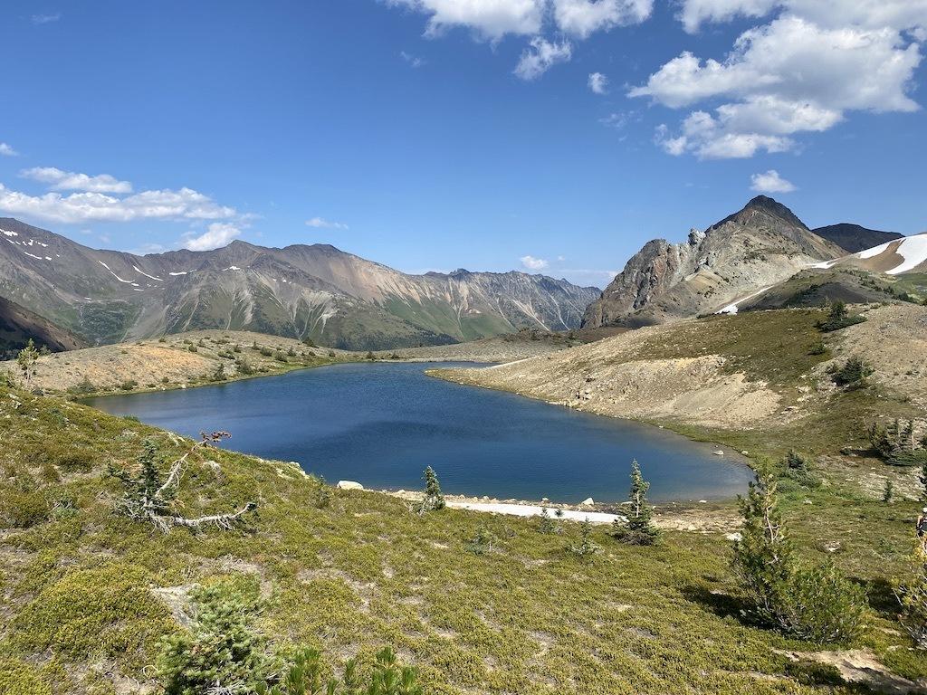 Whitecap Alpine Hiking Summer