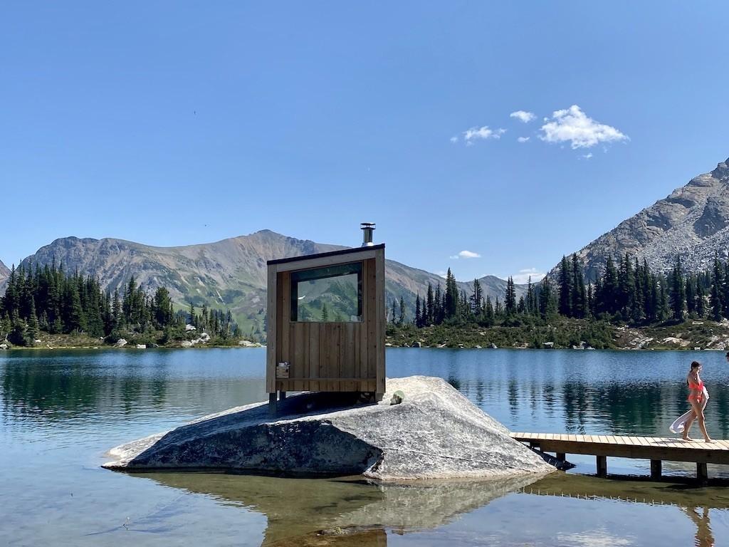Whitecap Alpine Sauna